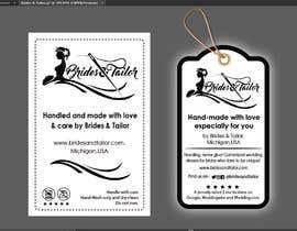 #3 para Designing a label and dress tag for my customized wedding dresses. por BlaBlaBD