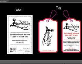 #8 para Designing a label and dress tag for my customized wedding dresses. por BlaBlaBD