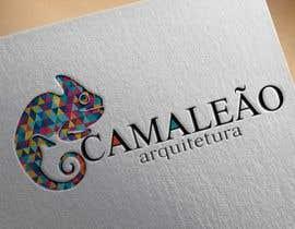 #52 para Criar uma logo e matérias de papelaria para o nome CAMALEÃO ARQUITETURA por arazyak
