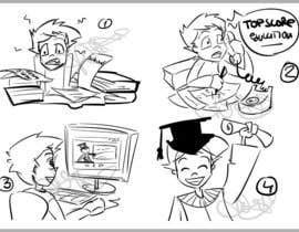 #14 untuk Illustrate Something for TopScore Education oleh dikka