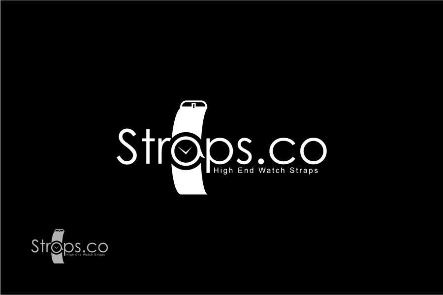 #551 for Logo Design for Straps.co by Remon1199