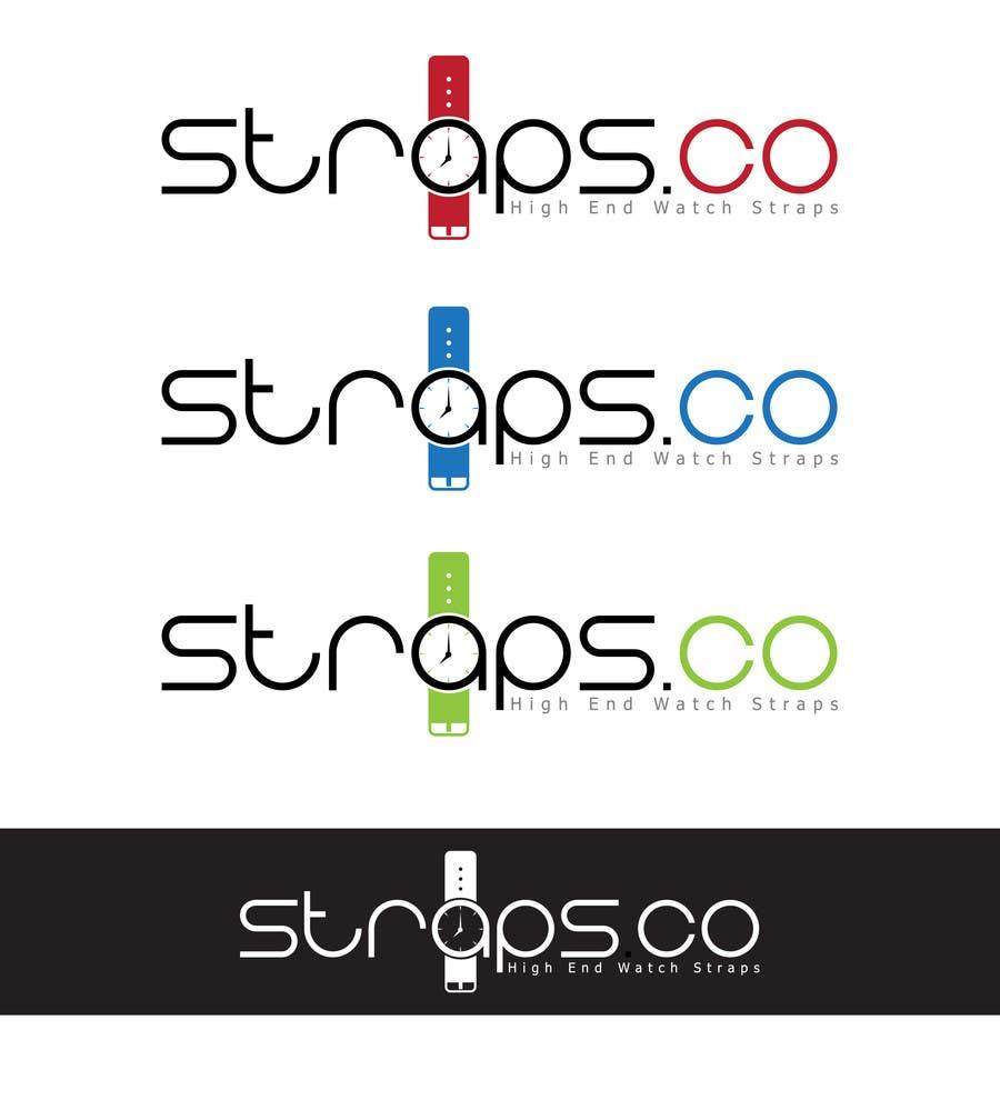 Bài tham dự cuộc thi #726 cho Logo Design for Straps.co