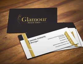 Nro 21 kilpailuun Design some Business Cards for my beauty saloon käyttäjältä kazierfan