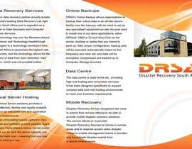 #7 untuk Brochure Design for Disaster Recovery South Africa oleh MagicProductions