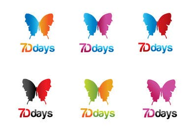 nº 1457 pour Logo Design for 7Ddays par paxslg