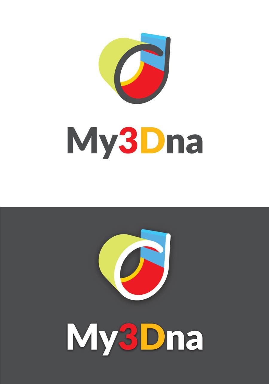 Kilpailutyö #                                        72                                      kilpailussa                                         Design a Logo for My3Dna Inc