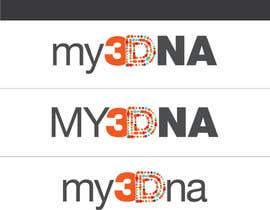 Nro 79 kilpailuun Design a Logo for My3Dna Inc käyttäjältä flexflashapps