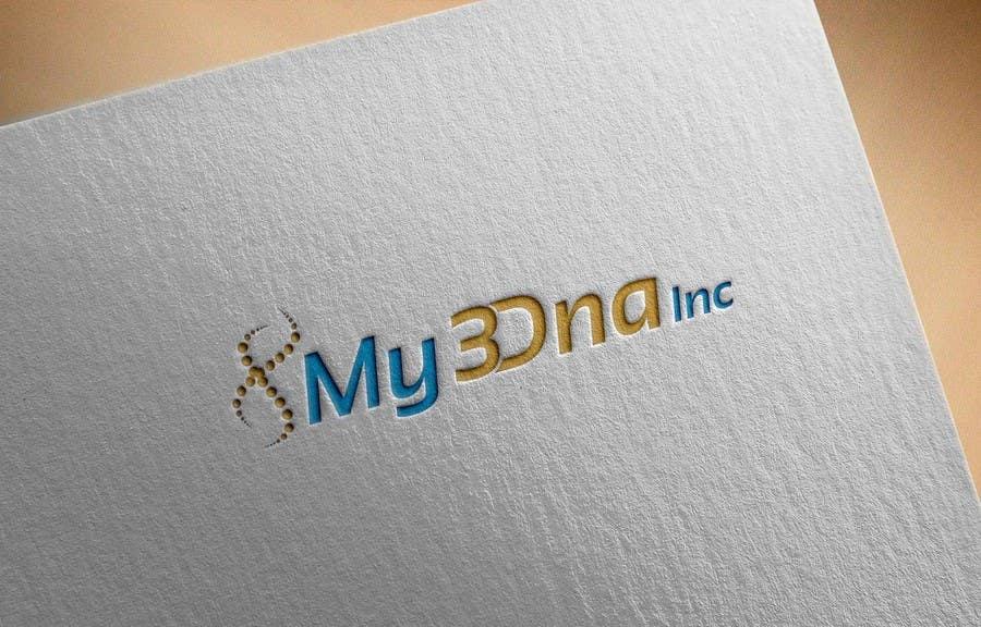 Kilpailutyö #                                        43                                      kilpailussa                                         Design a Logo for My3Dna Inc