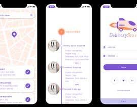Nro 18 kilpailuun Design an App Mockup käyttäjältä acidonexAcidOnex
