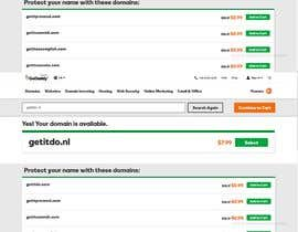 #74 , Come up with a professional domain name (.COM and .NL) for an IT company 来自 KasunEranda1