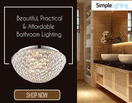#2 for Design a Banner for Email - Bathroom Lighting af princessbadal