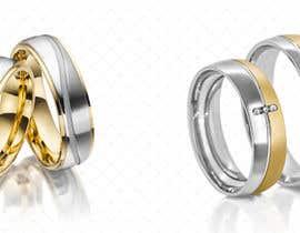 Nro 55 kilpailuun Retouching / Illustrate Wedding Rings  (LONG TERM WORKSHIP up to 13$ per Image) käyttäjältä retOraclena