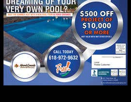 nº 15 pour Design an Advertisement for Pools par savitamane212