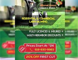 #26 for Design an Advertisement for lawn mowing af saayyemahmed