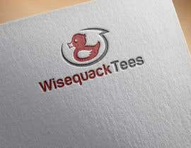 #166 for Wisequacktees.com Logo by isyaansyari