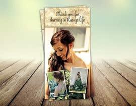 #10 para Design a Flyer for a Thank you Card por Izabela1