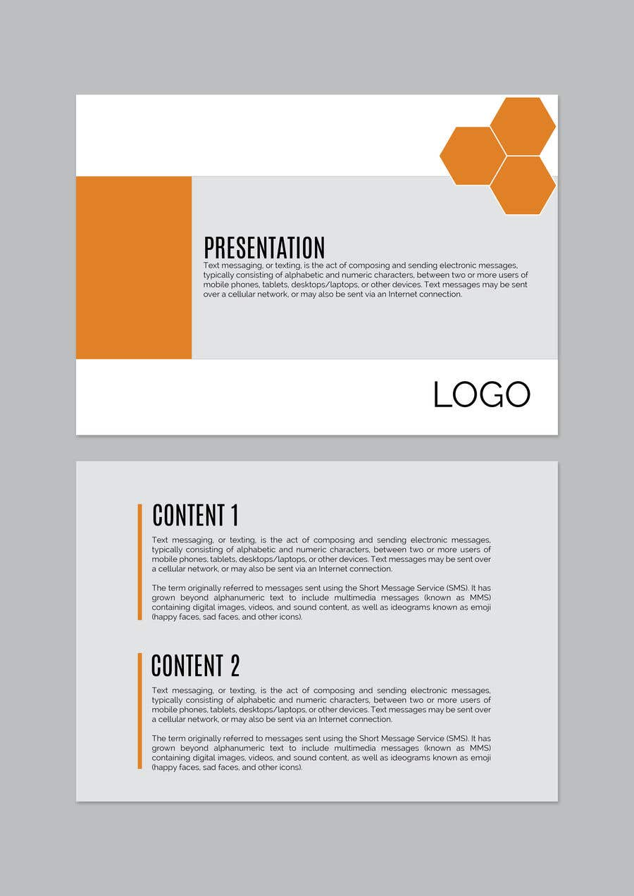 entry 4 by amritabhardwaj for need a powerpoint template designer