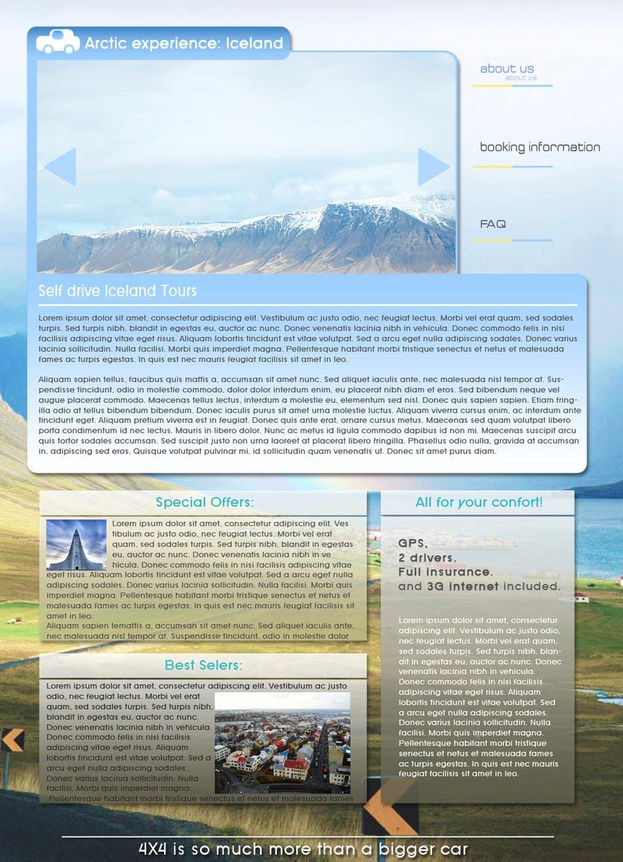 Συμμετοχή Διαγωνισμού #13 για Website Design for Arctic Experience Iceland
