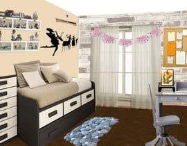 #15 for Unisex children's bedroom design x 2 af Rufeeya