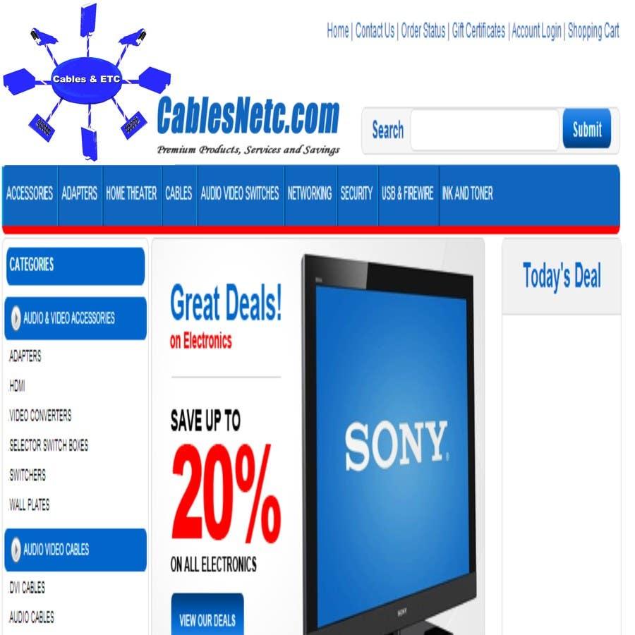 Konkurrenceindlæg #2 for Logo Design for Cables & ETC
