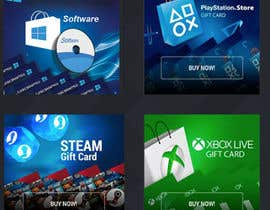 #24 for Category image design for Gaming Website Store by virza805