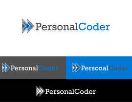 #110 para Diseñar un logotipo para nuevo servicio llamado Personal Coder. de rusbelyscastillo