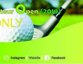 #14 cho Banner for Golf Tournament..  Thailand Amateur Open bởi TEGAR92