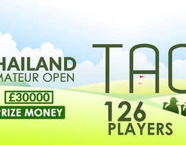 #6 cho Banner for Golf Tournament..  Thailand Amateur Open bởi TINKERSMIND