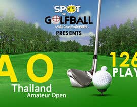 #11 cho Banner for Golf Tournament..  Thailand Amateur Open bởi TINKERSMIND
