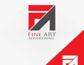 #89 untuk Design a Logo for FineART Advertising oleh GraphicsXperts
