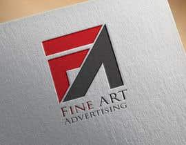 #91 untuk Design a Logo for FineART Advertising oleh GraphicsXperts