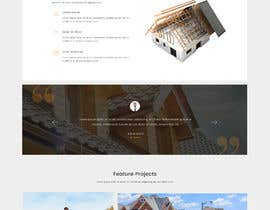 #13 para Anvil Roofing and Siding Landing Page Mockup de Batto14