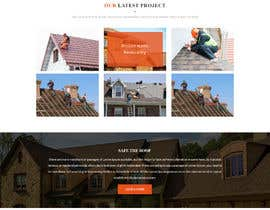 #9 para Anvil Roofing and Siding Landing Page Mockup de ByteZappers