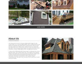 #22 para Anvil Roofing and Siding Landing Page Mockup de Orko30