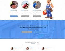 #1 para Anvil Roofing and Siding Landing Page Mockup de Baljeetsingh8551