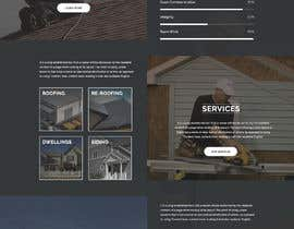 #8 para Anvil Roofing and Siding Landing Page Mockup de shazy9design
