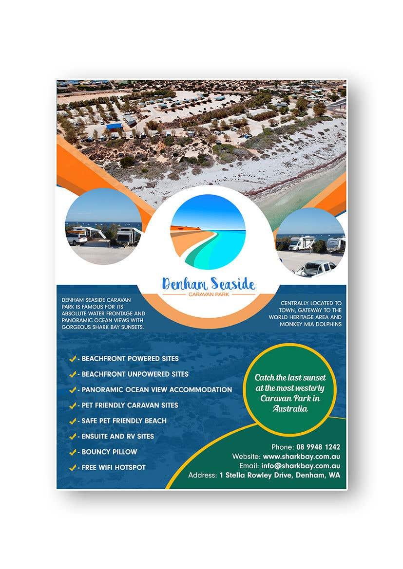 Bài tham dự cuộc thi #9 cho Design an A4 Advertisement for Denham Seaside Caravan Park