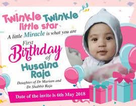 Design A Birthday Invite For Baby Girl S 1st Birthday