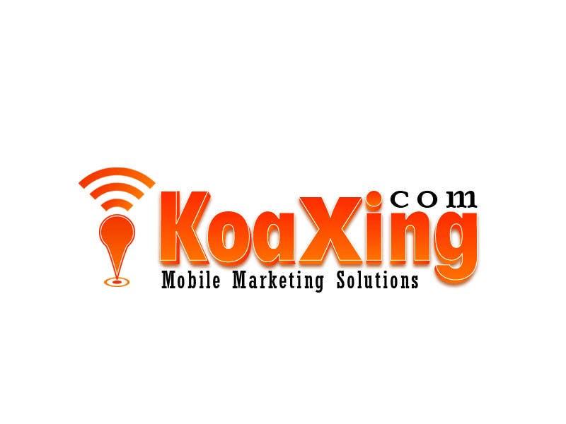 #748 for LOGO DESIGN for marketing company: Koaxing.com by mjuliakbar