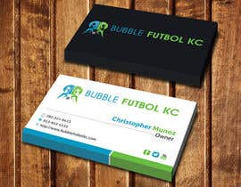 #73 cho Design some Business Cards for Bubble Futbol KC bởi dinesh0805