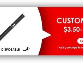#2 cho Design a Banner - Vape Pens bởi kats2491