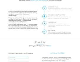 #12 for Design a One Page Website for IT Security Company by janakgfxdesign