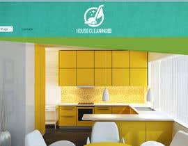 Nro 184 kilpailuun House Cleaning Logo käyttäjältä mohammedahmed82