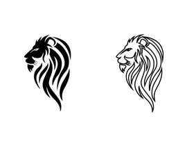 #15 for Illustrate Lion head logo by taherhaider