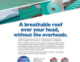 #116 untuk Roofshield Advertisement Design for A. Proctor Group Ltd oleh telf