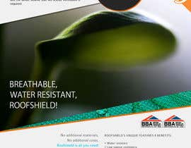 #142 untuk Roofshield Advertisement Design for A. Proctor Group Ltd oleh halfadrenalin