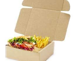 estefa03 tarafından Doner Kebab Box Packaging Designs için no 5