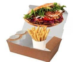 estefa03 tarafından Doner Kebab Box Packaging Designs için no 10