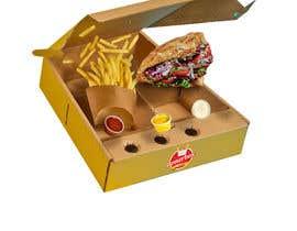 mediassaz tarafından Doner Kebab Box Packaging Designs için no 11