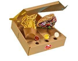 mediassaz tarafından Doner Kebab Box Packaging Designs için no 12